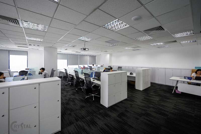 thiết kế thi công văn phòng