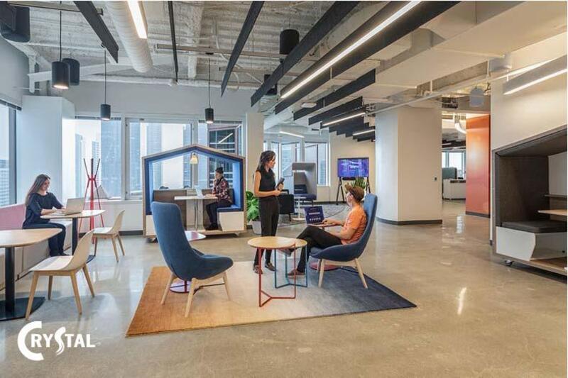 thiết kế văn phòng thông minh
