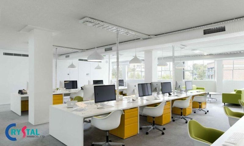 tư vấn thiết kế văn phòng - Crystal Design TPL