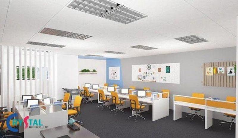 tư vấn thiết kế văn phòng làm việc - Crystal Design TPL