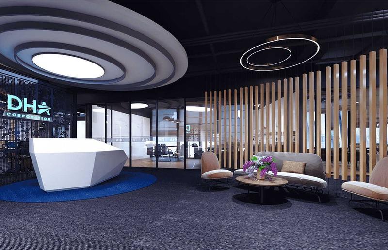 văn phòng đẹp - Crystal Design TPL