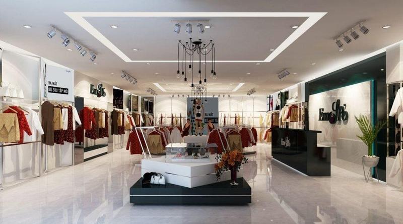 bảng báo giá thiết kế showroom - Crystal Design TPL