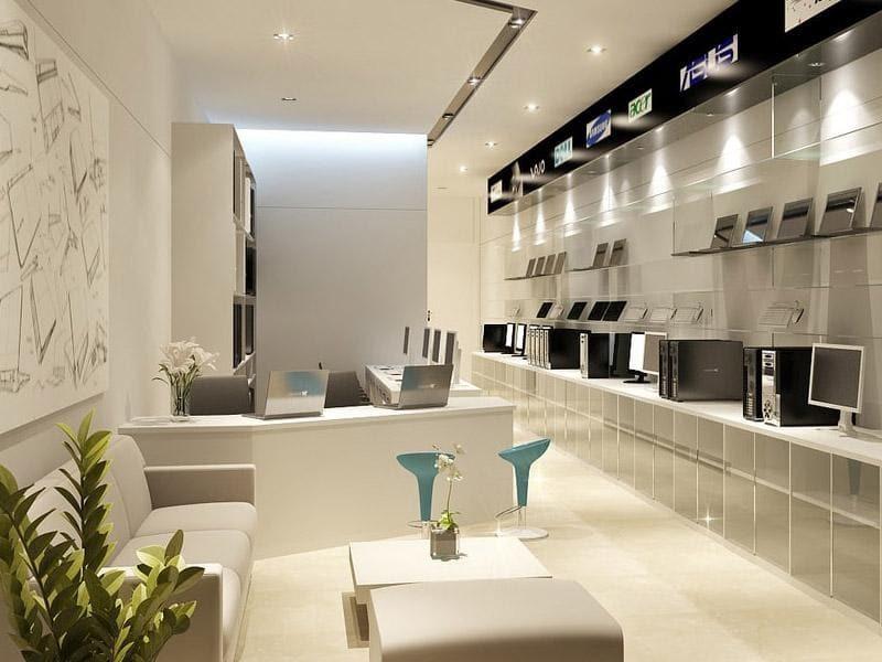 báo giá thiết kế nội thất showroom - Crystal Design TPL