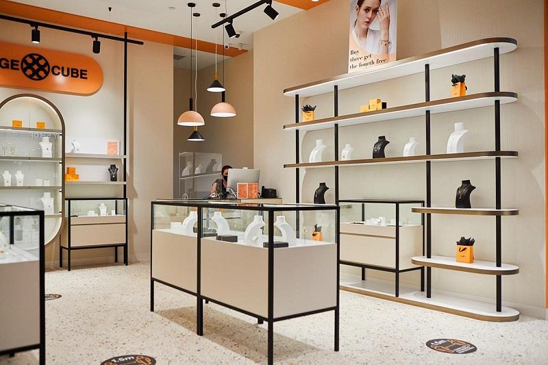 các yếu tố cần biết khi thiết kế cửa hàng trang sức - Crystal Design TPL