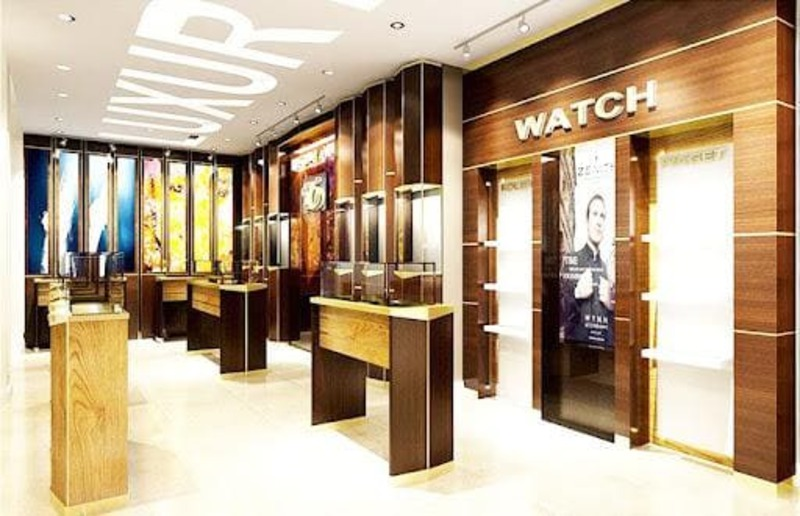 chi phí thiết kế cửa hàng showroom - Crystal Design TPL