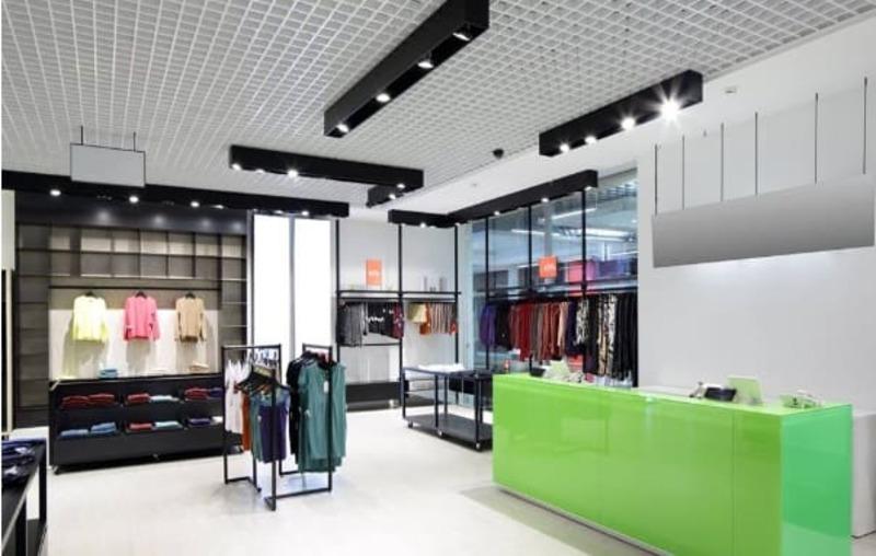 chi phí thiết kế thi công showroom - Crystal Design TPL