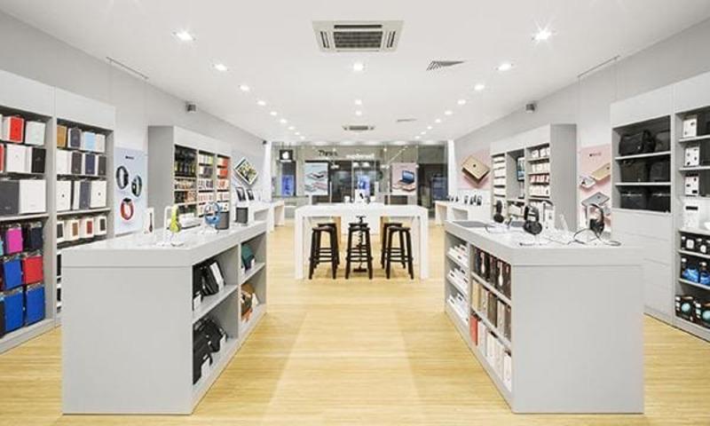 đơn giá thiết kế nội thất showroom - Crystal Design TPL