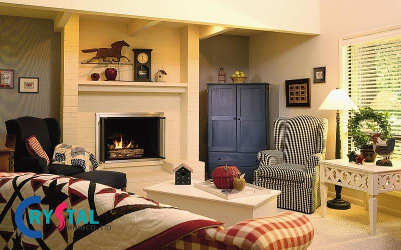 không gian nội thất vintage