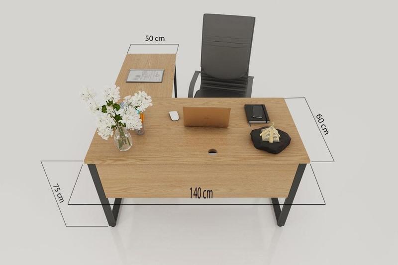 kích thước bàn làm việc tiêu chuẩn - Crystal Design TPL