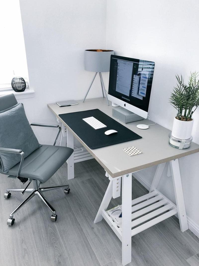 kích thước bàn làm việc văn phòng - Crystal Design TPL