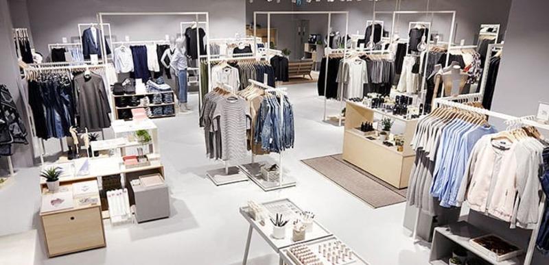 mẫu cửa hàng quần áo trẻ em - Crystal Design TPL