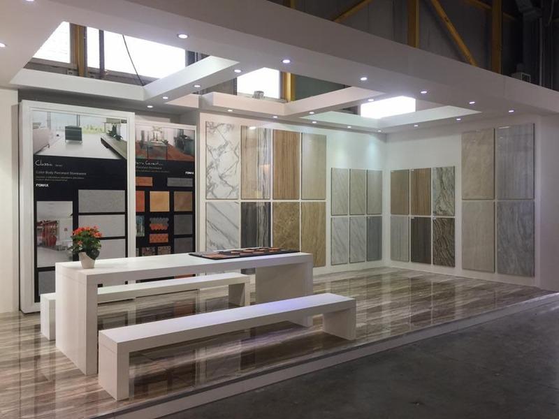 mẫu showroom gạch men ốp lát - Crystal Design TPL