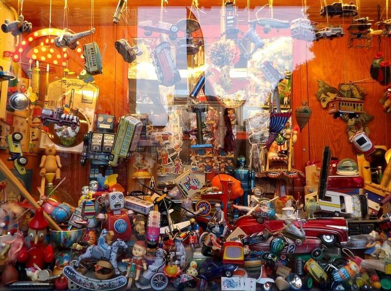 mẫu thiết kế cửa hàng đồ chơi trẻ em