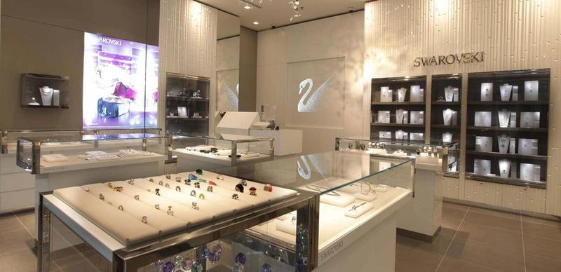 mẫu thiết kế cửa hàng vàng bạc - Crystal Design TPL