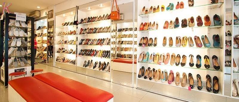 mẫu thiết kế giày dép cửa hàng - Crystal Design TPL