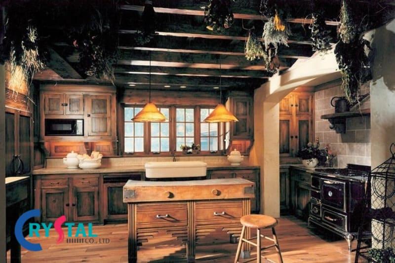 mẫu thiết kế nội thất vintage