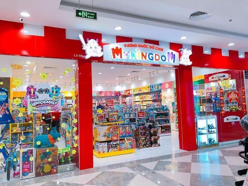 mẫu thiết kế shop đồ chơi trẻ em