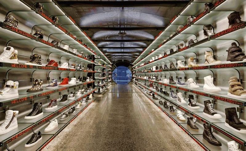 mẫu thiết kế shop giày dép - Crystal Design TPL