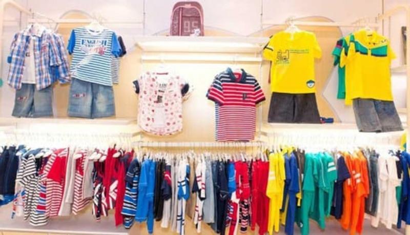 mẫu thiết kế shop mẹ và bé - Crystal Design TPL