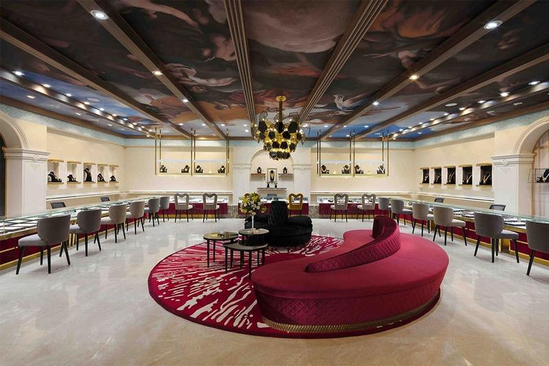 mẫu thiết kế shop showroom trang sức đẹp - Crystal Design TPL