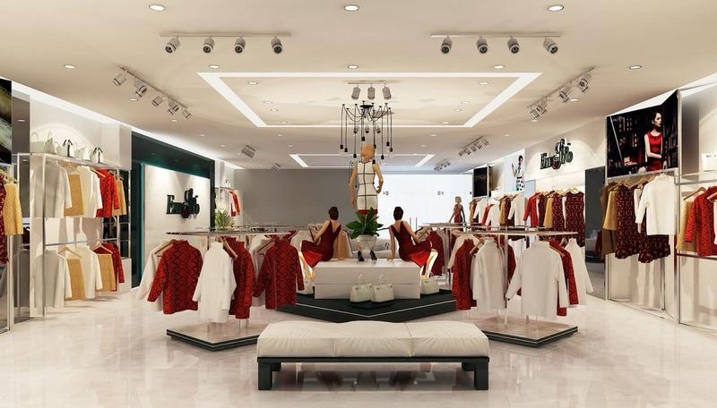 mẫu thiết kế shop thời trang trẻ em thu hút - Crystal Design TPL