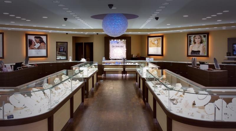 mẫu thiết kế shop trang sức đẹp ấn tượng - Crystal Design TPL