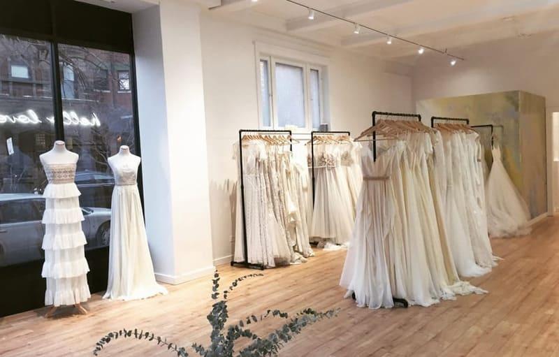mẫu thiết kế showroom cưới nhỏ