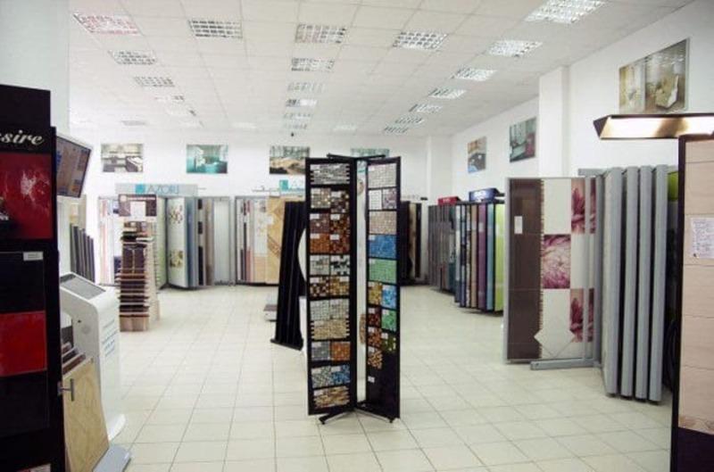 mẫu thiết kế showroom gạch ốp lát ấn tượng - Crystal Design TPL