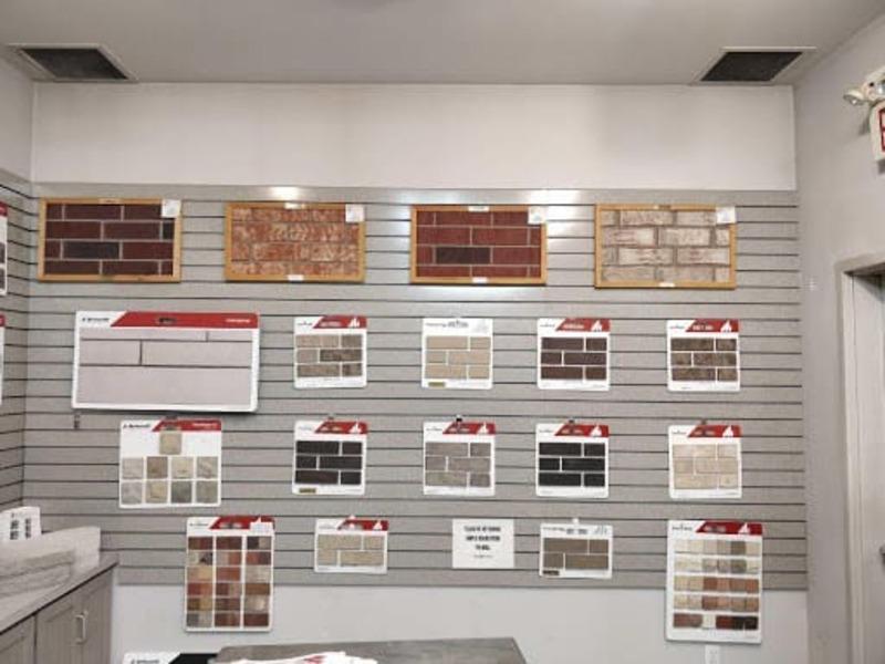 mẫu thiết kế showroom gạch ốp lát - Crystal Design TPL