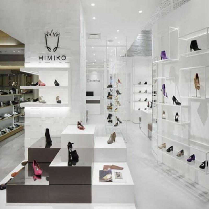 mẫu thiết kế tiệm bán giày dép - Crystal Design TPL