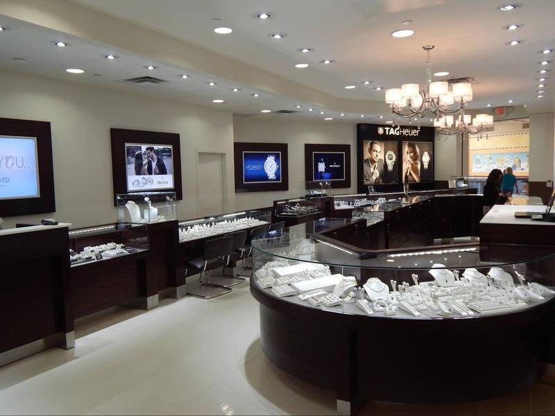 mẫu thiết kế tiệm trang sức đẹp - Crystal Design TPL