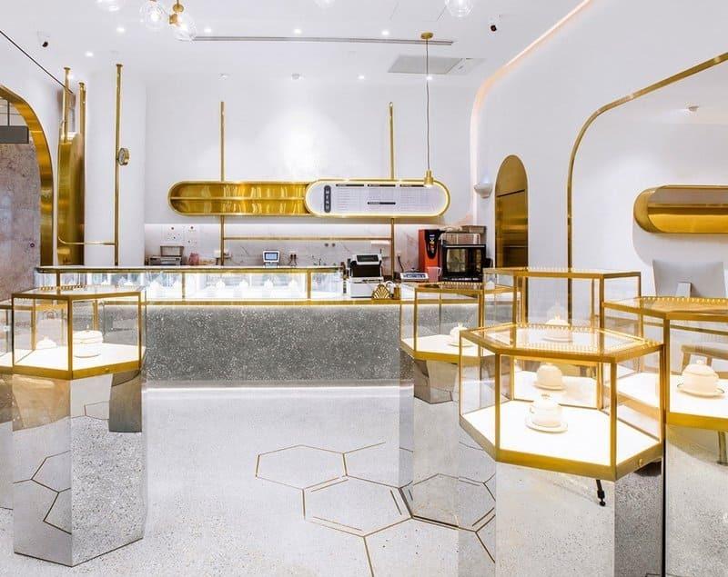 mẫu thiết kế tiệm trang sức thu hút - Crystal Design TPL