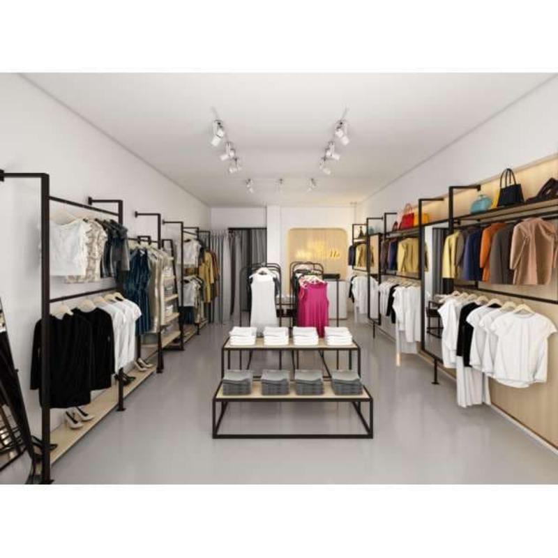 mẫu thiết kế trang trí shop quần áo trẻ em - Crystal Design TPL