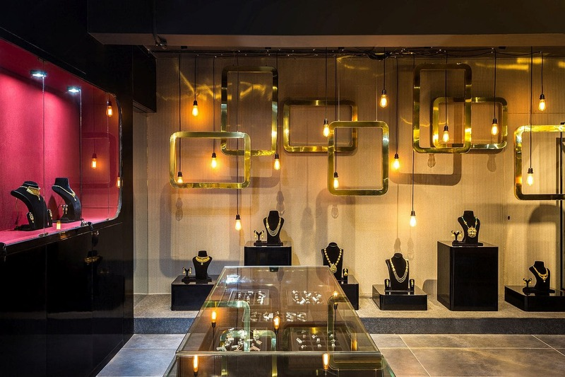 những mẫu thiết kế tiệm trang sức đẹp - Crystal Design TPL