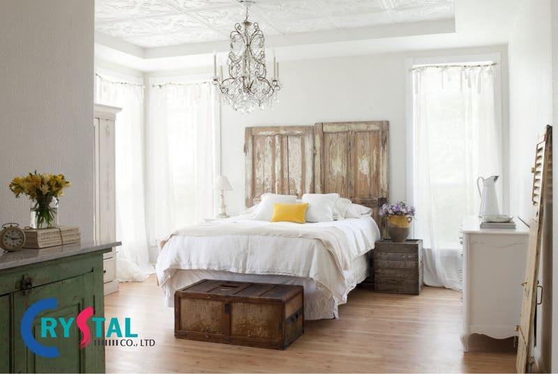nội thất chung cư phong cách vintage