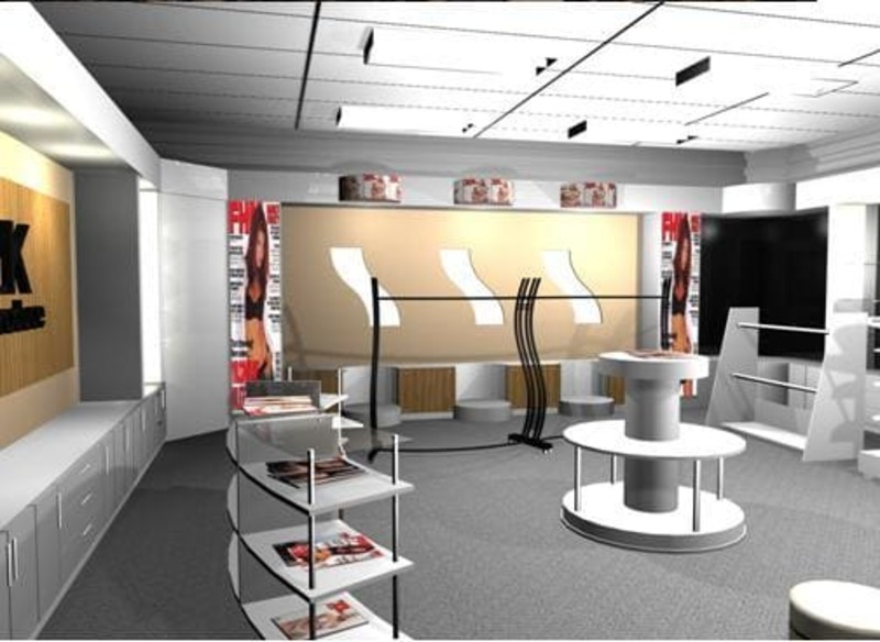 phí thiết kế thi công nội thất showroom - Crystal Design TPL