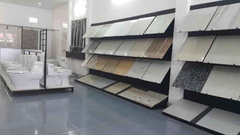 showroom gạch ốp lát đẹp - Crystal Design TPL