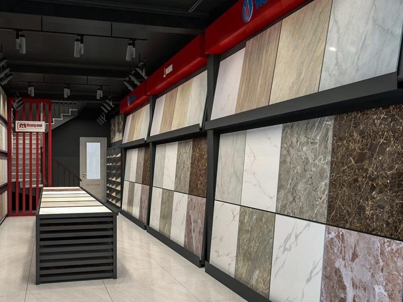 showroom gạch - Crystal Design TPL