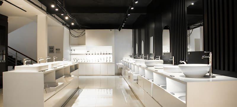 showroom thiết bị vệ sinh đẹp - Crystal Design TPL