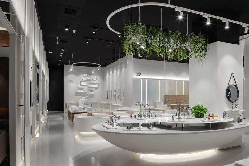 showroom thiết bị vệ sinh - Crystal Design TPL