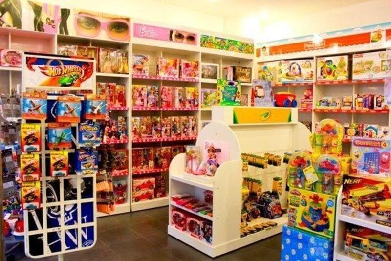 thiết kế cửa hàng đồ chơi cho bé