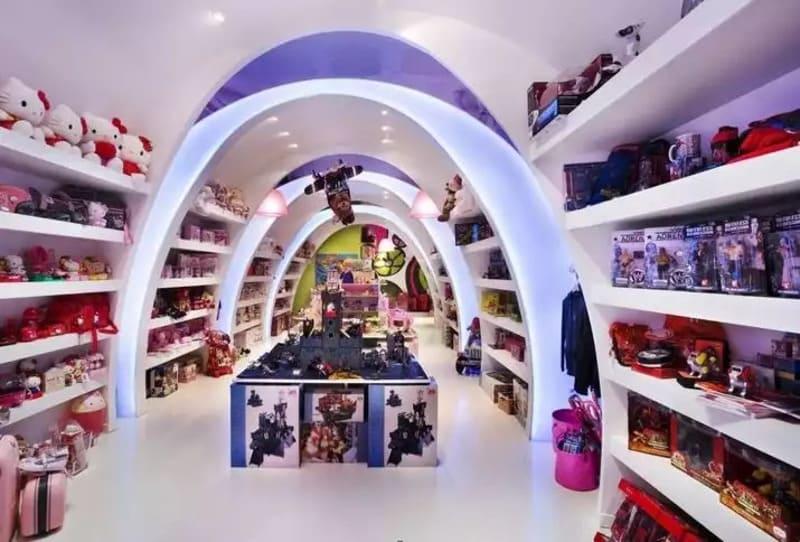 thiết kế cửa hàng đồ chơi trẻ em