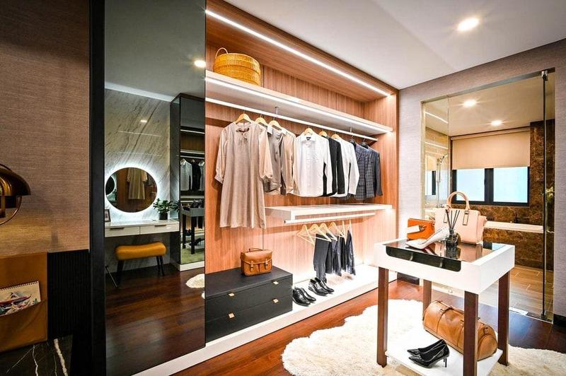 thiết kế cửa hàng thời trang phong cách vintage - Crystal Design TPL
