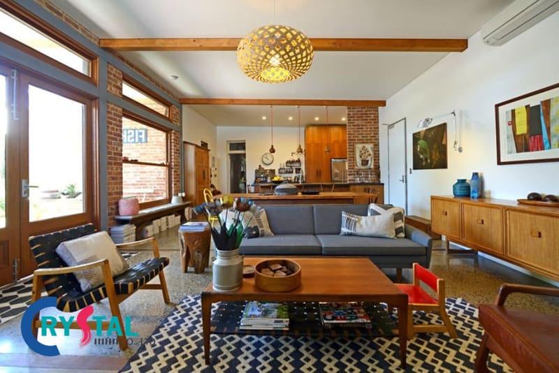 thiết kế nhà theo phong cách vintage