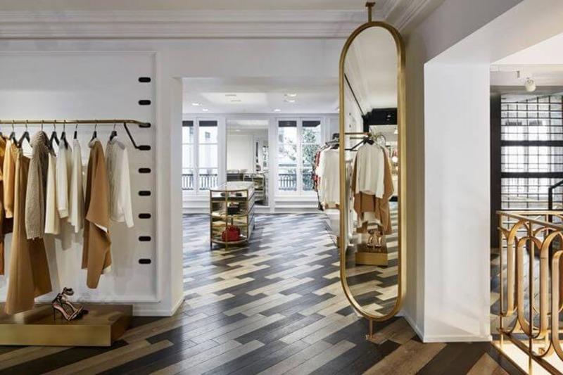 thiết kế nội thất shop cửa hàng quần áo trẻ em - Crystal Design TPL