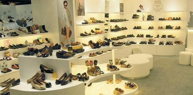 thiết kế shop bán giày dép độc đáo - Crystal Design TPL