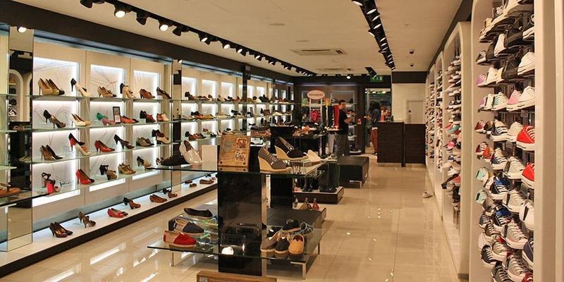 thiết kế shop bán giày dép nhỏ - Crystal Design TPL