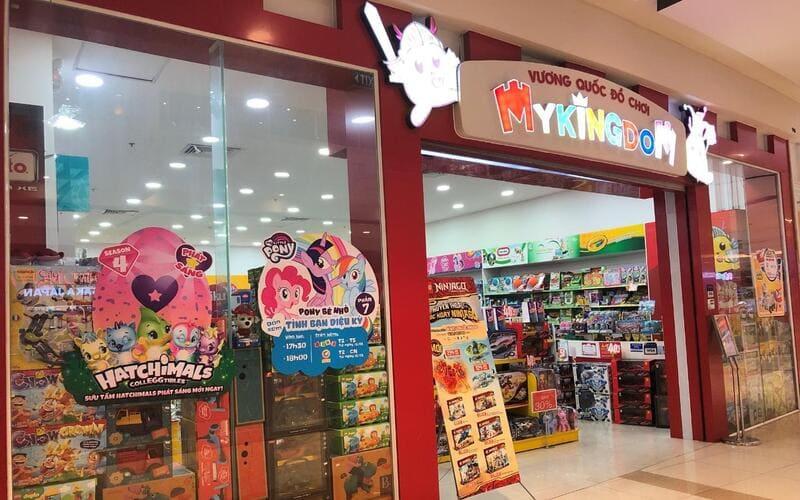 thiết kế shop đồ chơi trẻ em