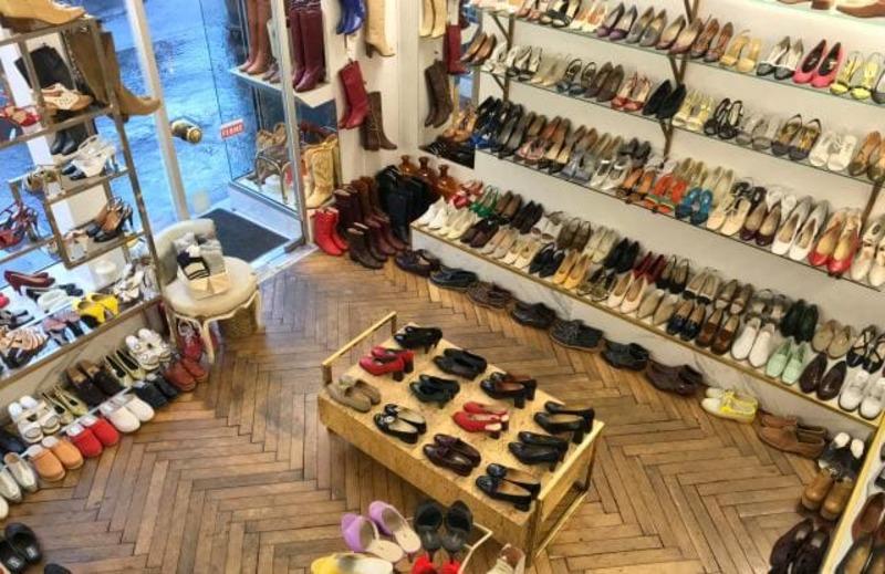 thiết kế shop giày dép - Crystal Design TPL