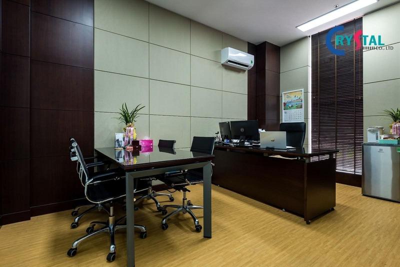 thiết kế văn phòng phong thuỷ - Crystal Design TPL